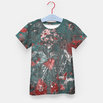Thumbnail image of Multicolored Abstract Print Kid's t-shirt, Live Heroes