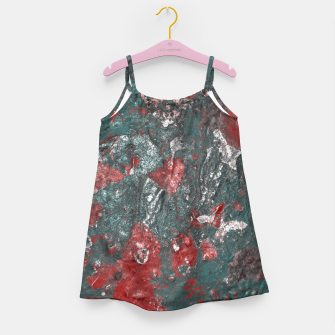 Miniaturka Multicolored Abstract Print Girl's dress, Live Heroes