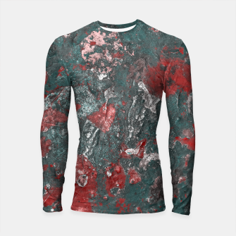 Thumbnail image of Multicolored Abstract Print Longsleeve rashguard , Live Heroes