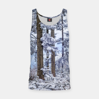 Miniature de image de Winter forest Tank Top, Live Heroes