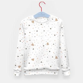 Thumbnail image of Terrazzo in beige Kid's sweater, Live Heroes