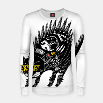 Thumbnail image of Catpunk Women sweater, Live Heroes