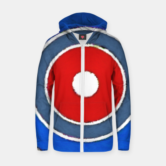 Thumbnail image of Lens Zip up hoodie, Live Heroes