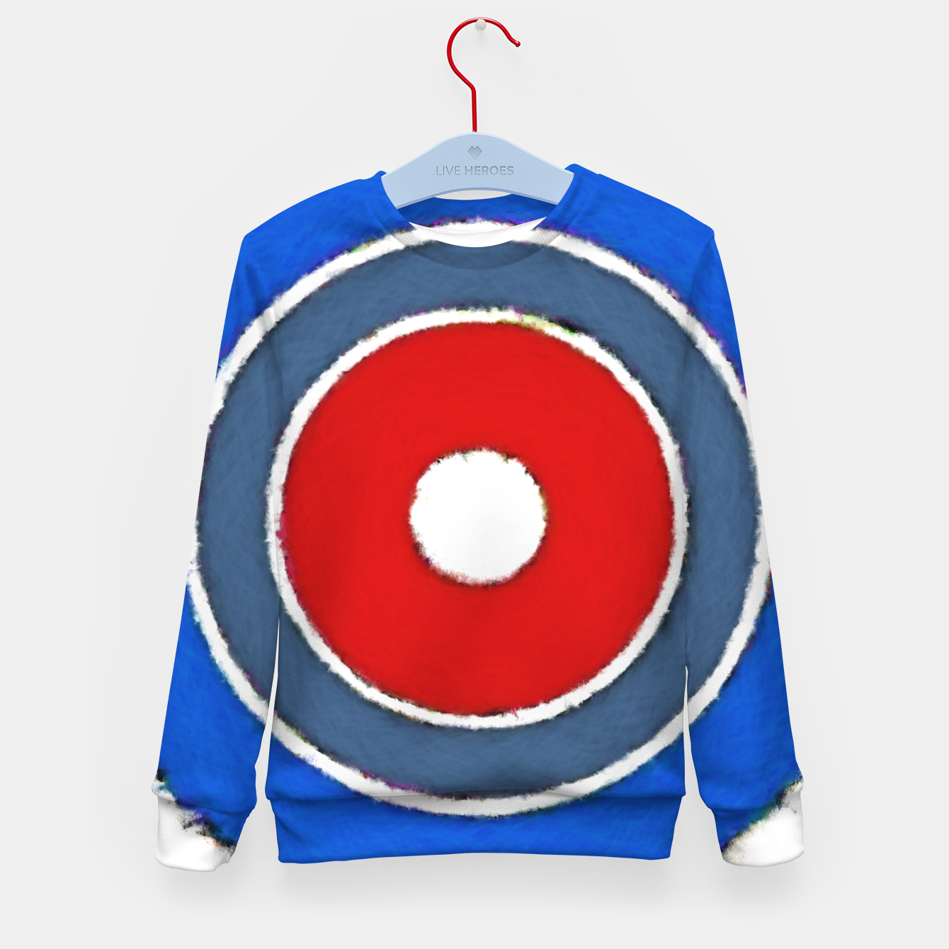 Image of Lens Kid's sweater - Live Heroes