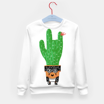Thumbnail image of Rocktus Kid's sweater, Live Heroes