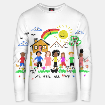 Thumbnail image of We are all One Unisex sweater, Live Heroes