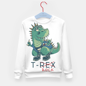 Thumbnail image of T-Rock Kid's sweater, Live Heroes