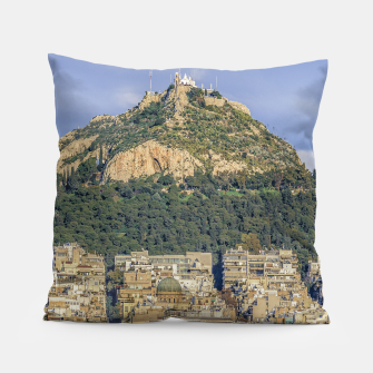Thumbnail image of Athens Greece Aerial View  Pillow, Live Heroes