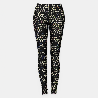 Thumbnail image of Neon Geometric Pattern Design Leggings, Live Heroes