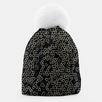 Thumbnail image of Neon Geometric Pattern Design Beanie, Live Heroes
