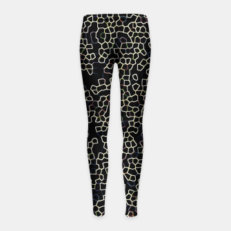 Thumbnail image of Neon Geometric Pattern Design Girl's leggings, Live Heroes
