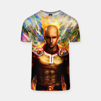 Thumbnail image of One Punch Man Saitama T-shirt, Live Heroes