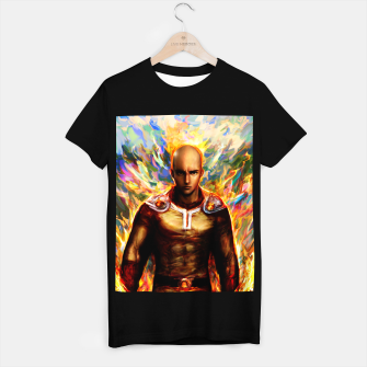 Thumbnail image of One Punch Man Saitama T-shirt regular, Live Heroes
