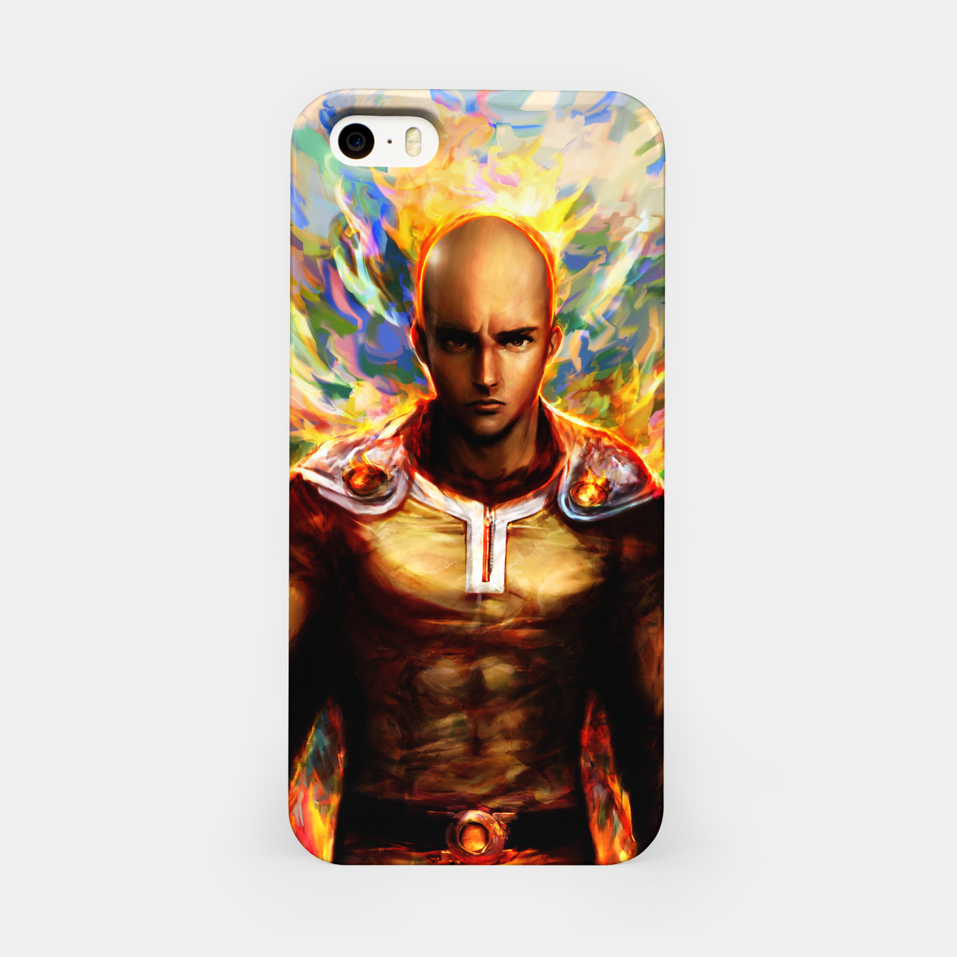 Image of One Punch Man Saitama iPhone Case - Live Heroes