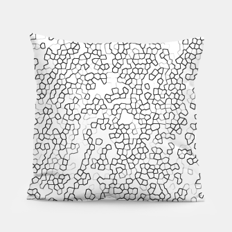 Thumbnail image of Neon Geometric Pattern Design Pillow, Live Heroes