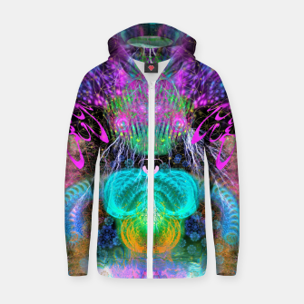 Thumbnail image of Alien Queen From Outer Space Zip up hoodie, Live Heroes