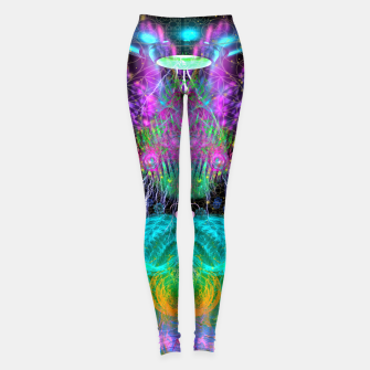 Thumbnail image of Alien Queen From Outer Space Leggings, Live Heroes