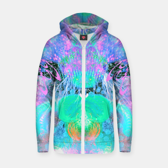 Thumbnail image of Alien Queen From Outer Space (Pastel) Zip up hoodie, Live Heroes