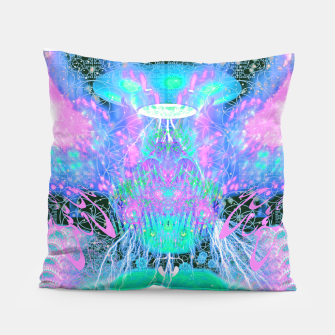 Thumbnail image of Alien Queen From Outer Space (Pastel) Pillow, Live Heroes