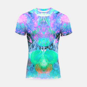 Thumbnail image of Alien Queen From Outer Space (Pastel) Shortsleeve rashguard, Live Heroes