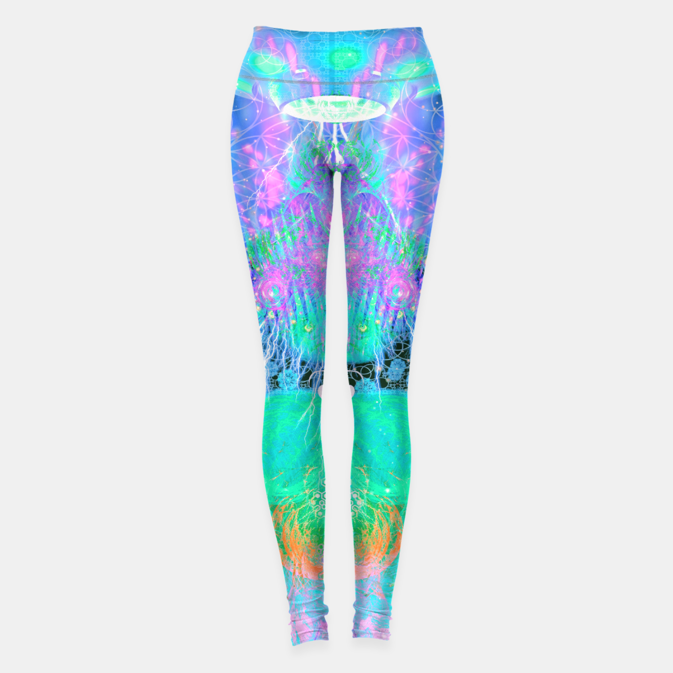 Image of Alien Queen From Outer Space (Pastel) Leggings - Live Heroes