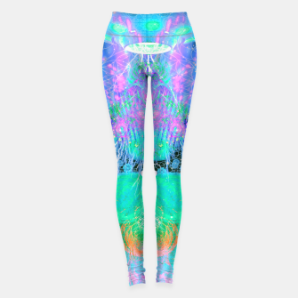 Thumbnail image of Alien Queen From Outer Space (Pastel) Leggings, Live Heroes