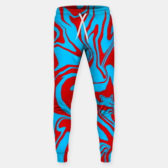 Miniature de image de Blue and Red Oil Spill Unisex Jogger Sweatpants , Live Heroes