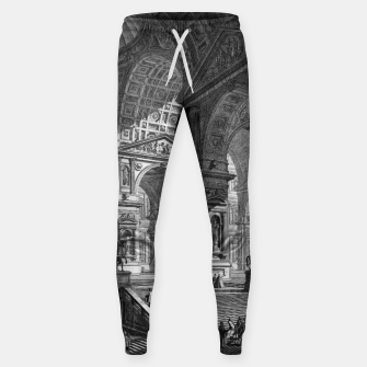 Thumbnail image of Large Sculpture Gallery Built On Arches by Giovanni Battista Piranesi Sweatpants, Live Heroes
