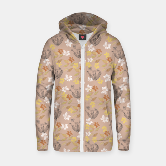 Thumbnail image of Spring Flowers  Sudadera con capucha y cremallera , Live Heroes
