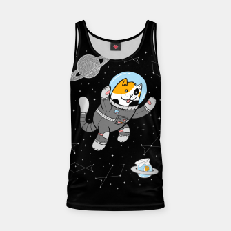 Thumbnail image of Catstronaut Tank Top, Live Heroes