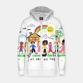 We are all One Zip up hoodie thumbnail image
