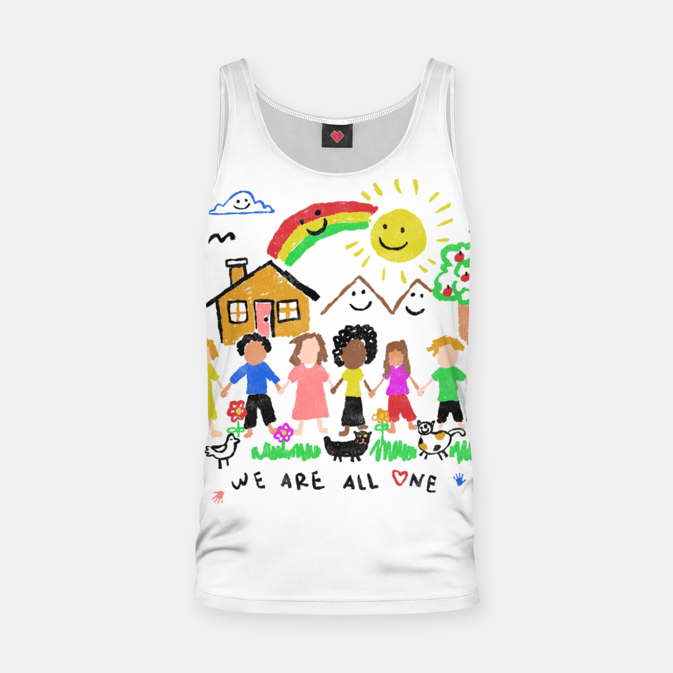 Image of We are all One Tank Top - Live Heroes