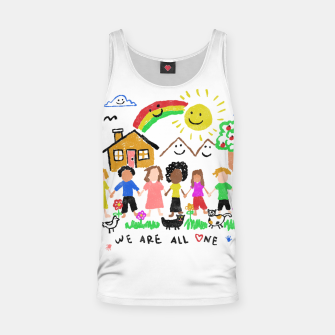 Thumbnail image of We are all One Tank Top, Live Heroes