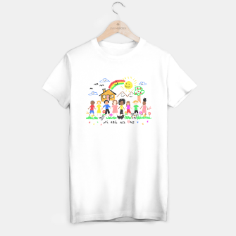 Thumbnail image of We are all One T-shirt regular, Live Heroes