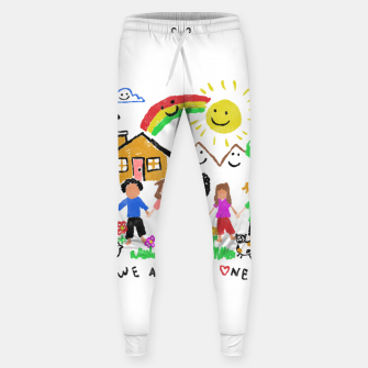 Miniature de image de We are all One Sweatpants, Live Heroes
