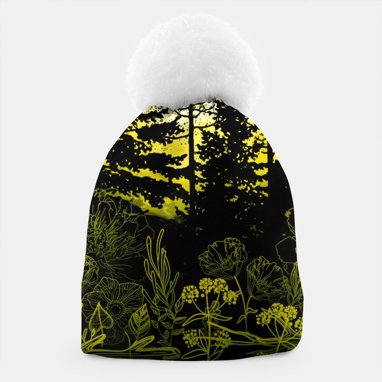 Image of BLUE MOON Beanie - Live Heroes