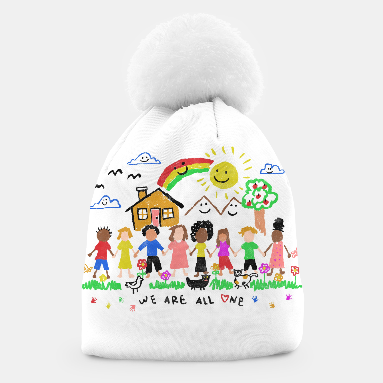 Image of We are all One Beanie - Live Heroes