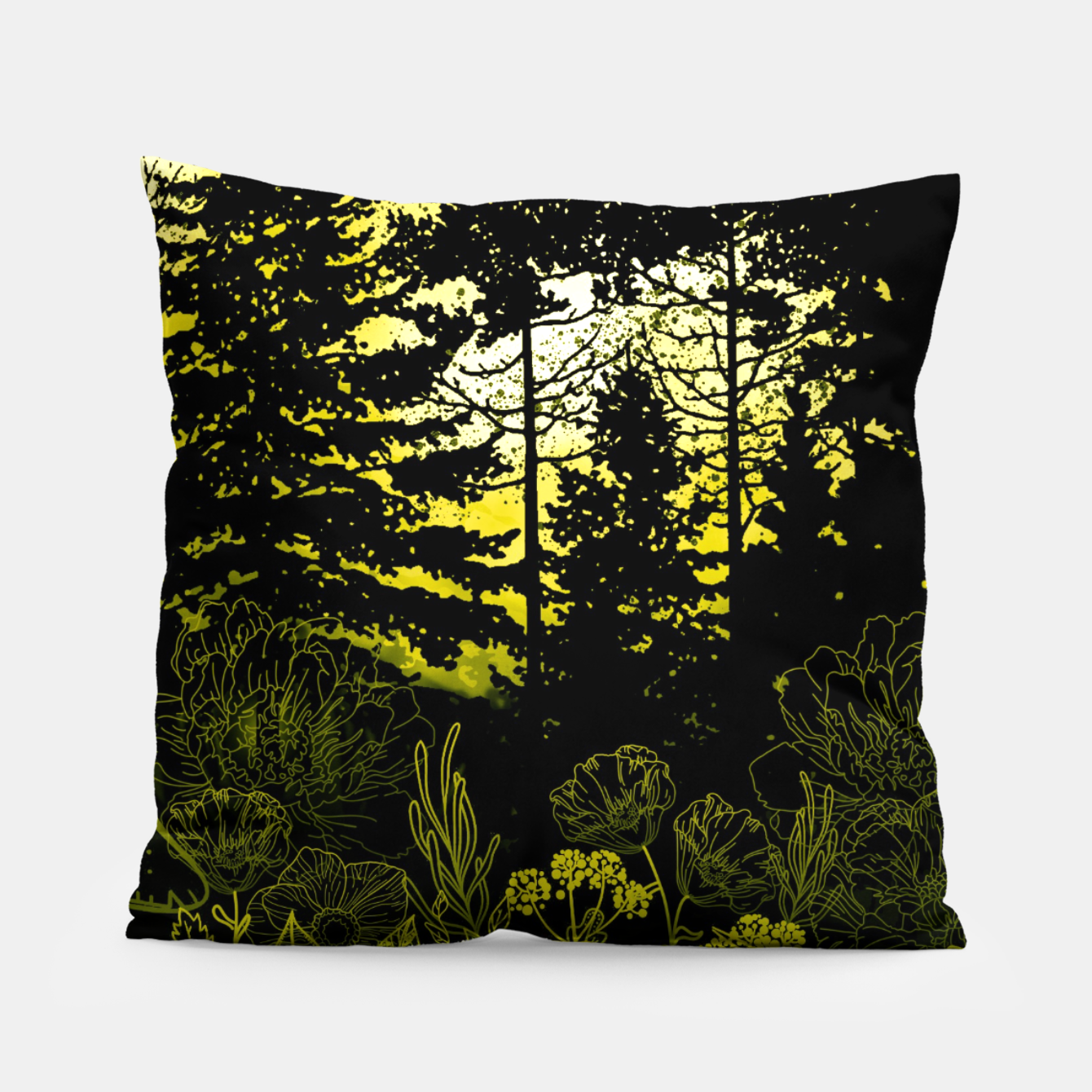 Image of BLUE MOON Pillow - Live Heroes