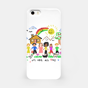 Thumbnail image of We are all One iPhone Case, Live Heroes