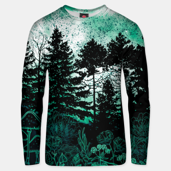 Thumbnail image of GREEN FOREST Unisex sweater, Live Heroes