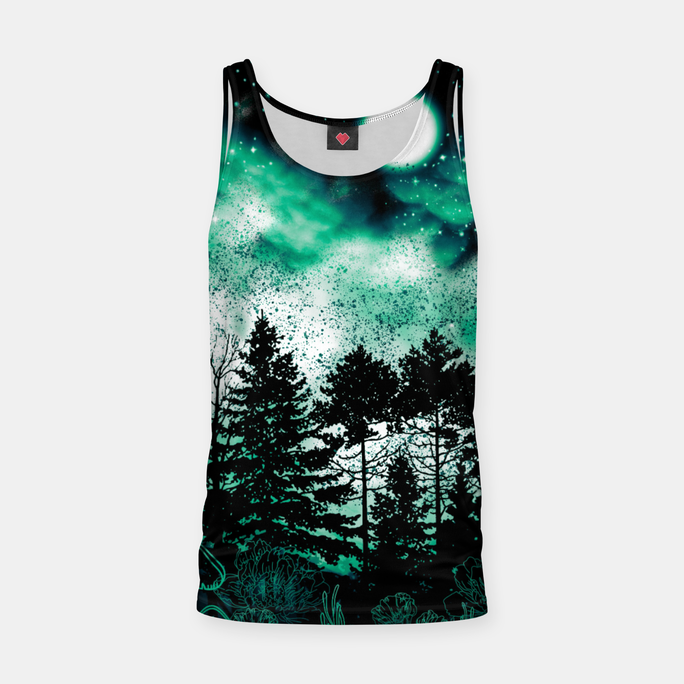Foto GREEN FOREST Tank Top - Live Heroes
