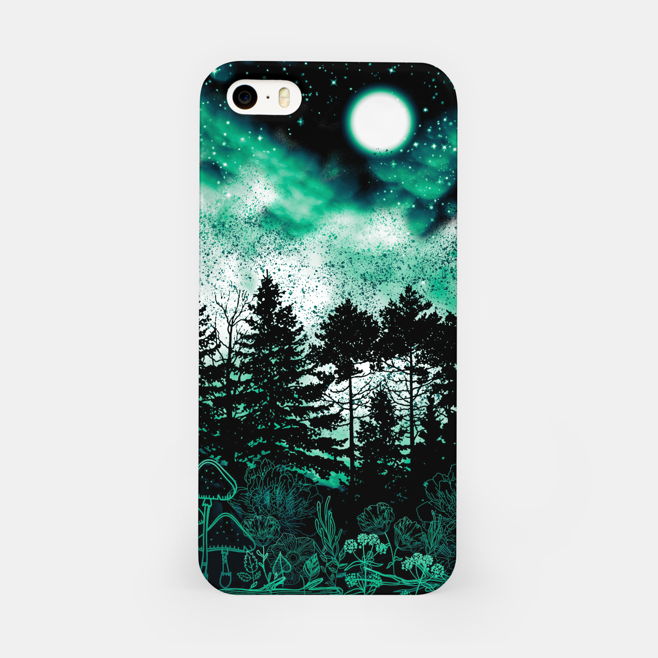 Image of GREEN FOREST iPhone Case - Live Heroes