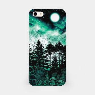 Miniatur GREEN FOREST iPhone Case, Live Heroes