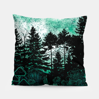 Miniatur GREEN FOREST Pillow, Live Heroes