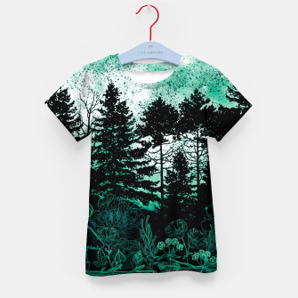 Miniatur GREEN FOREST Kid's t-shirt, Live Heroes