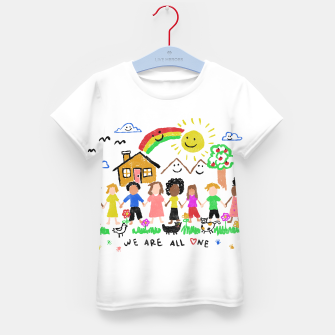 We are all One Kid's t-shirt thumbnail image