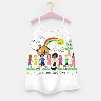 Thumbnail image of We are all One Girl's dress, Live Heroes