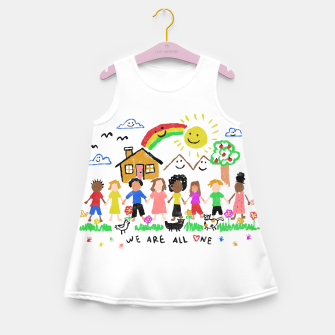 We are all One Girl's summer dress thumbnail image