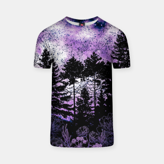 Miniatur PURPLE FOREST T-shirt, Live Heroes