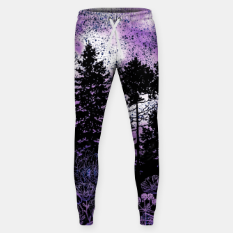 Miniature de image de PURPLE FOREST Sweatpants, Live Heroes
